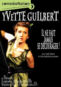 Yvette Affiche Comédie Nation